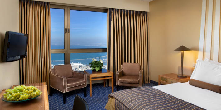 Dan Panorama Hotel Haifa Superior Bay View Room